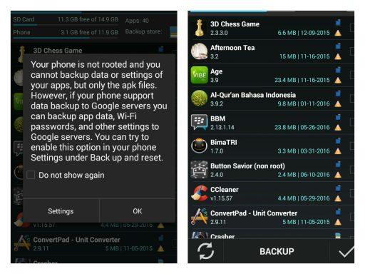 Cara Backup Data di Android dengan Easy Backup - 4