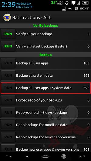 Cara Backup Data di Android Dengan Titanium Backup - 3
