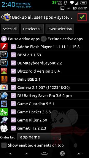 Cara Backup Data di Android Dengan Titanium Backup - 4