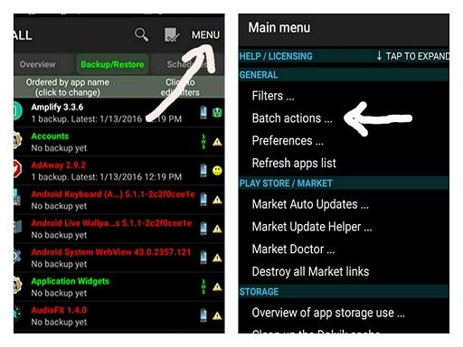 Cara Backup Data di Android Dengan Titanium Backup - 2