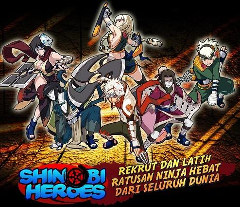 Game RPG Android Terbaik: Shinobi Heroes