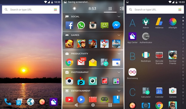 Launcher Android: Home Screen Yahoo Aviate Launcher