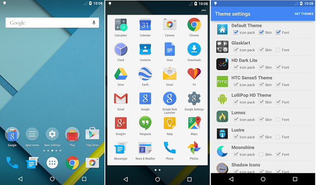 Launcher Android: Home Screen Apex Launcher