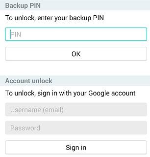 Cara Membuka Kunci Pola dengan Akun Google