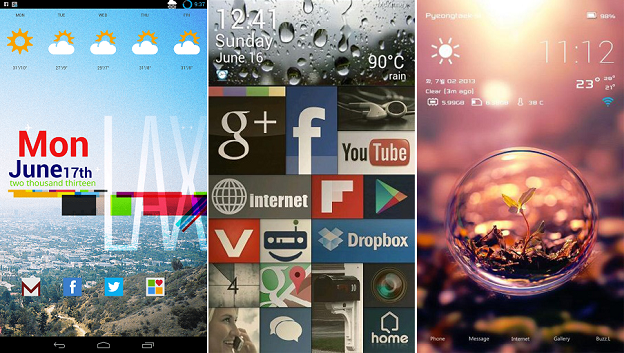 Launcher Android: Home Screen Buzz Launcher