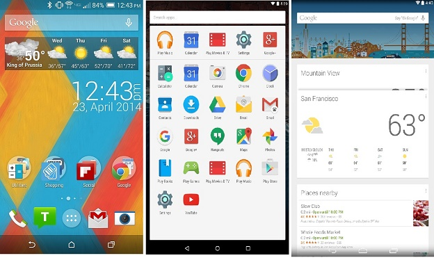 Launcher Android: Home Screen Google Now Launcher