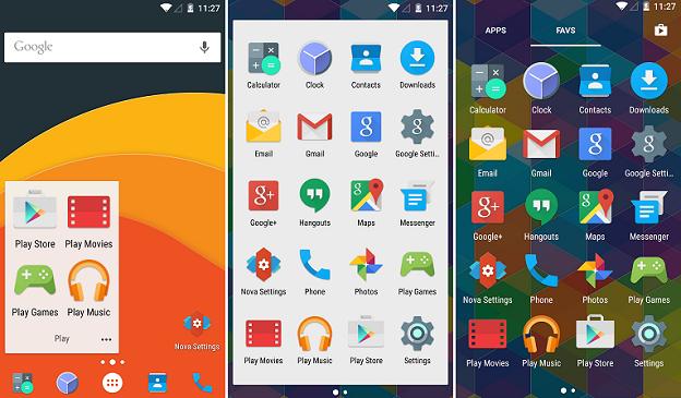 Launcher Android: Home Screen Nova Launcher