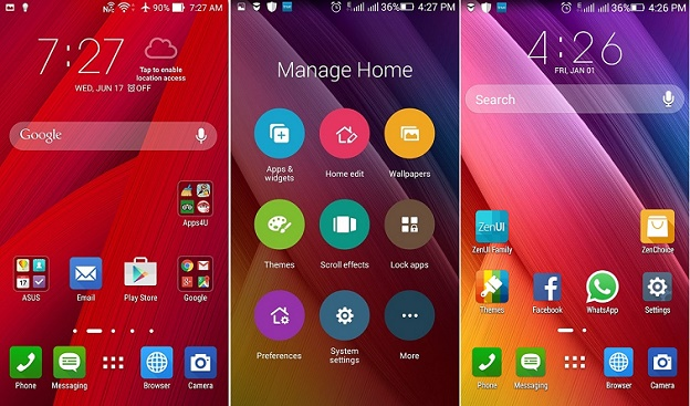 Launcher Android: Home Screen ZenUI Launcher