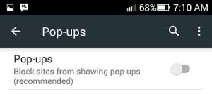 Cara Menonaktifkan Pop-ups di Google Chrome