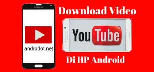 Cara Download Video Youtube Ke Galeri HP Android
