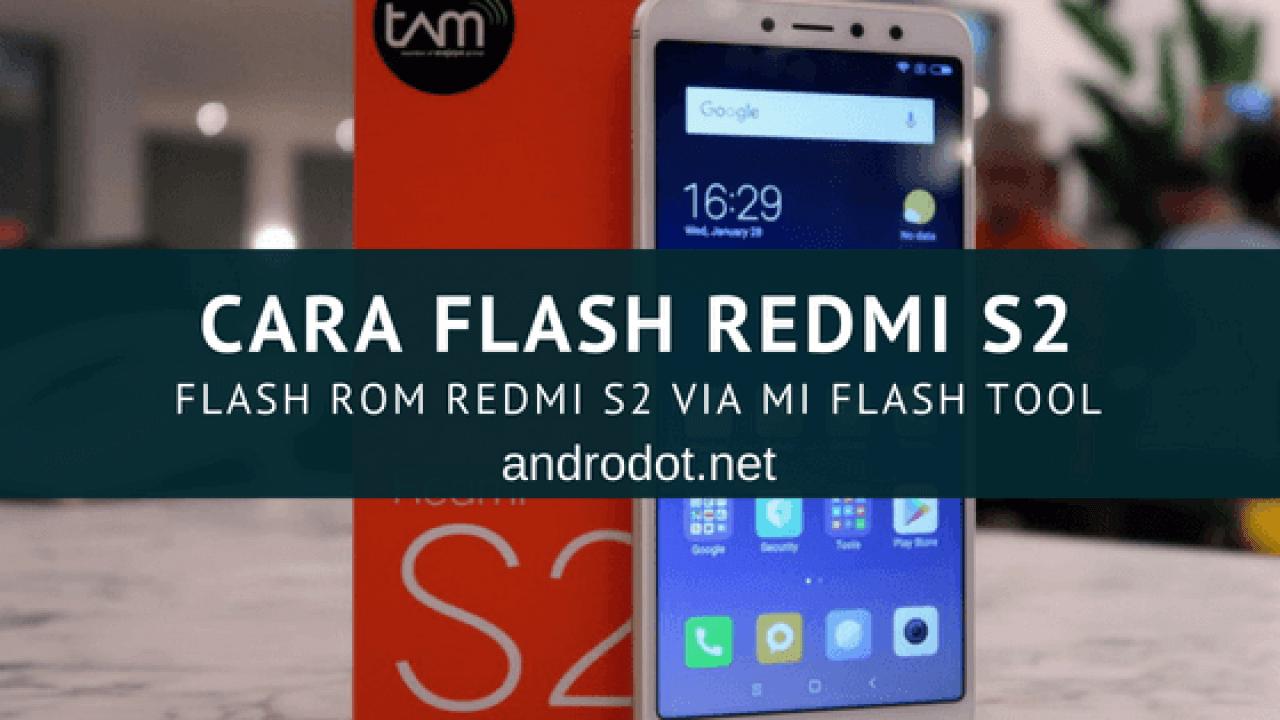 Mi Redmi S2 Flash File