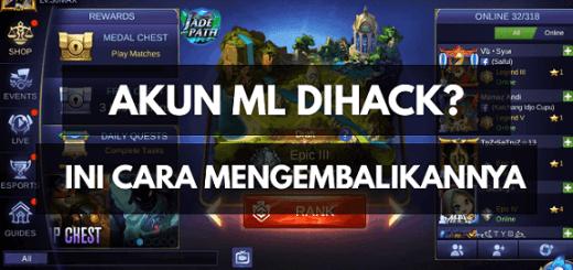 Akun Mobile Legend Hilang/Di Hack
