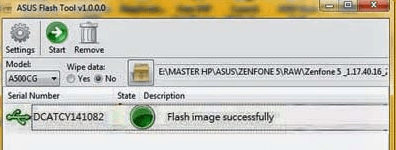 Cara Flash Asus Zenfone 5 via Flashtool, ADB Sideload & Tanpa PC