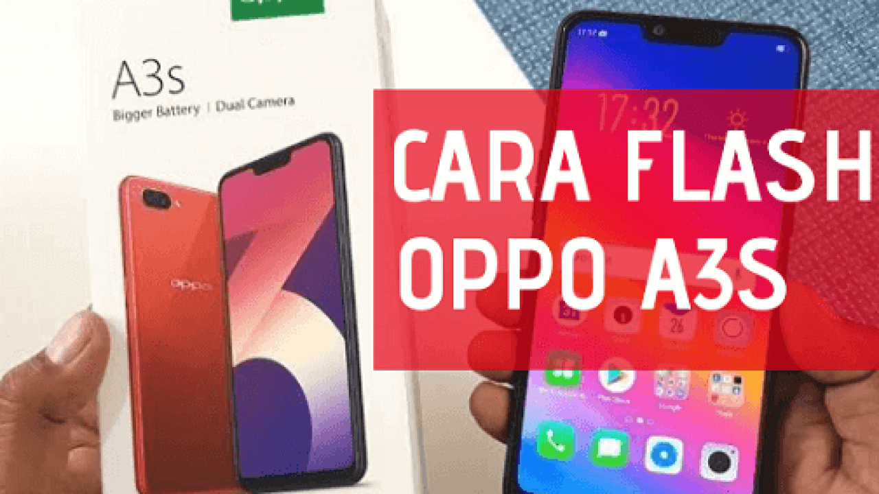Cara Flash Oppo A3S via Qfil dan SD Card (Tanpa PC), 100