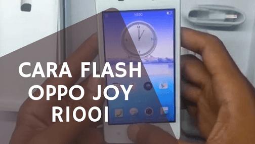 Cara Flash Oppo Joy R1001 via SP Flashtool & SD Card (Tanpa PC)