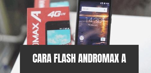 Cara Flash Andromax A 4G LTE