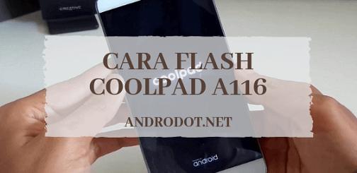 Cara Flash Coolpad A116 tested