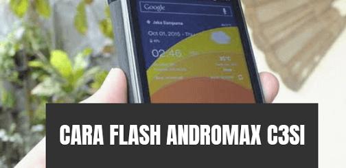 Cara Flash Andromax C3Si (NC36B1G) via QFIL