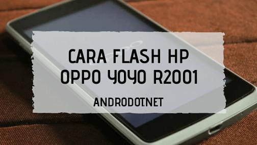 Cara Flash Oppo Yoyo R2001