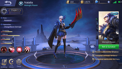 5 Hero Assassin Terkuat & Terbaik di Mobile Legends 2019, Auto Savage!