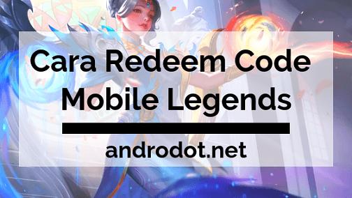 Ini Cara Redeem Code Mobile Legends Terbaru 2019, Hanya 5 Menit!