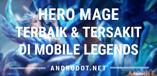 Hero mage terbaik dan terkuat di Mobile Legends