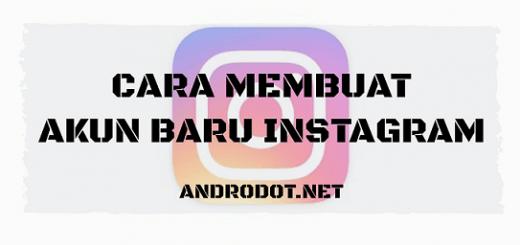 cara membuat akun baru instagram