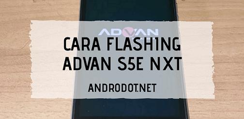 Cara Flash Advan S5E NXT via SPD Upgrade Tool