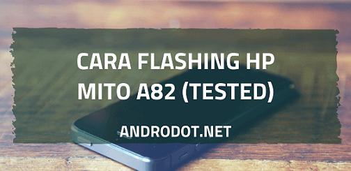 cara flash Mito A82 via Research Download Tool