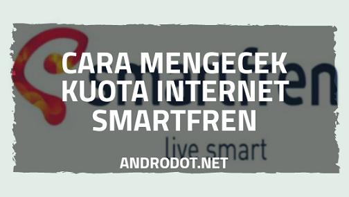 Cara Cek Kuota Internet Smartfren