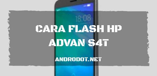 Cara Flash Advan S4T via Research Download