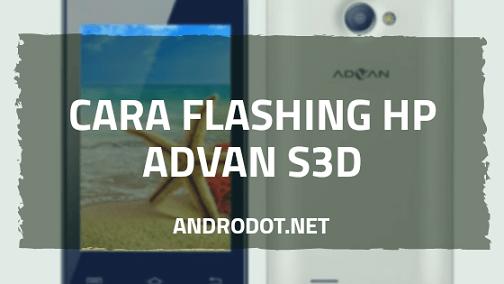 Cara Flash Advan S3D (TCS3535B) via Research Download