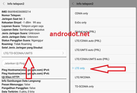 Cara Lock Sinyal 4g Lte Di Hp Oppo Terbaru 2020 100 Work