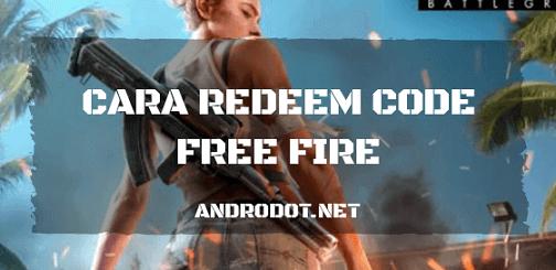Cara Redeem Code di Free Fire