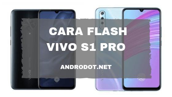 cara flash Vivo S1 Pro via SD Card