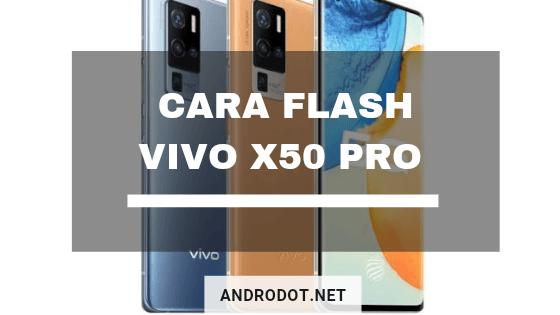 cara flash Vivo X50 Pro via SD Card