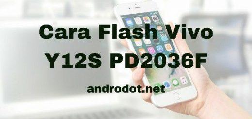 Cara Flash Vivo Y12S PD2036F