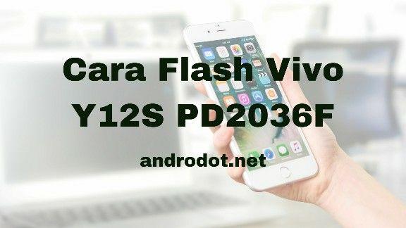 cara flash Vivo Y12s (PD2036F) via SD Card