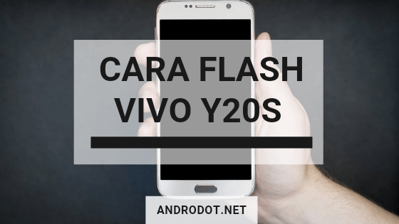 cara flash Vivo Y20s via SD Card