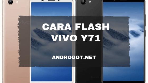 cara flash vivo y71 via sd card